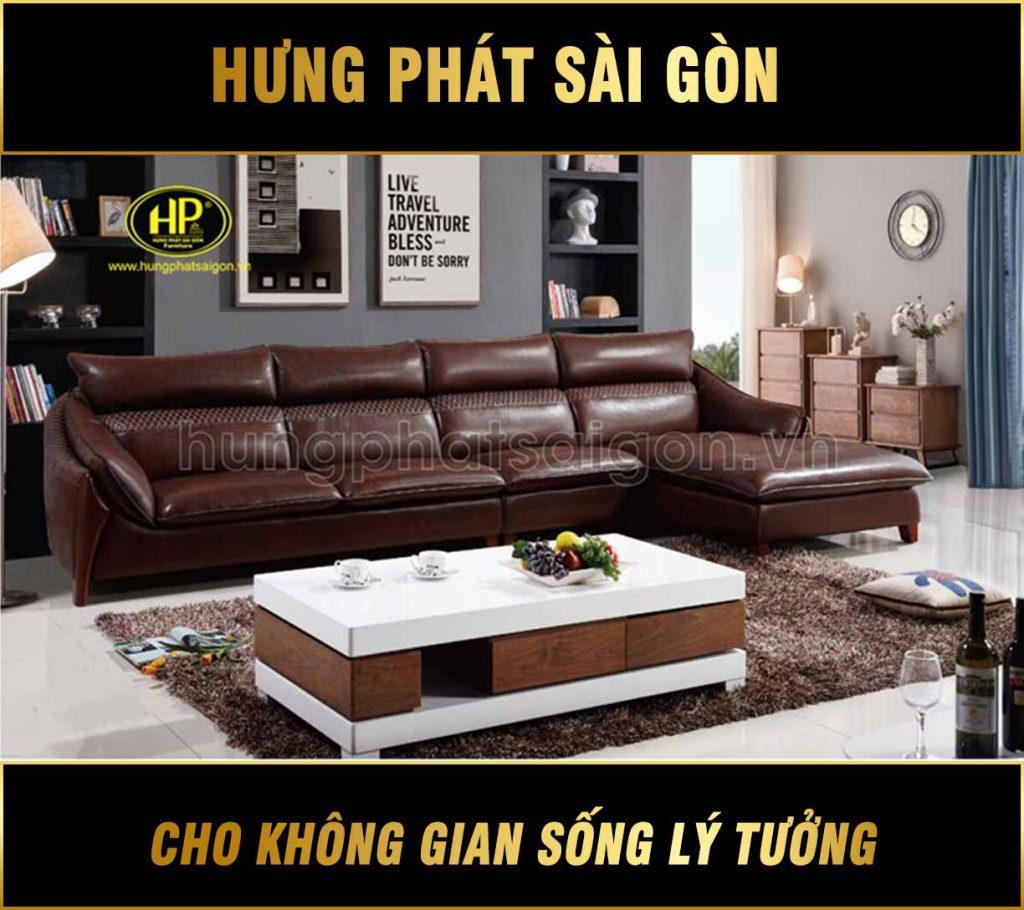 Sofa da cao cấp chính hãng HD-39