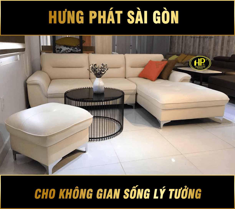 Sofa da cao cấp nhỏ gọn HD-08