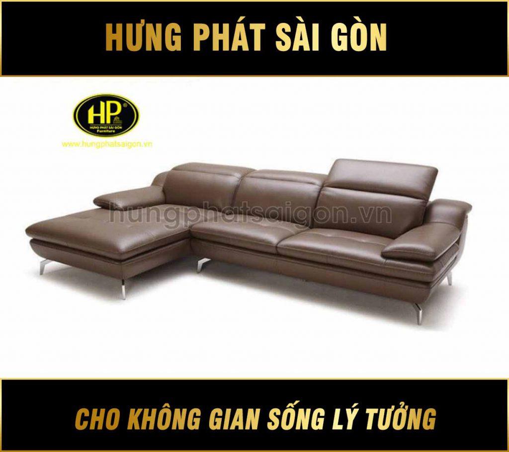 Sofa da phòng khách hiện đại HD-41