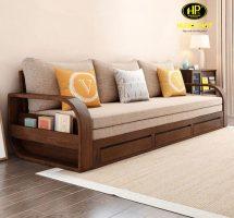sofa giường gỗ đa năng đang khuyến mãi