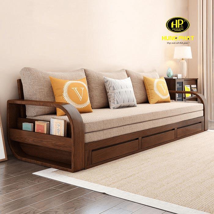 sofa giường gỗ giá rẻ uy tín chất lượng