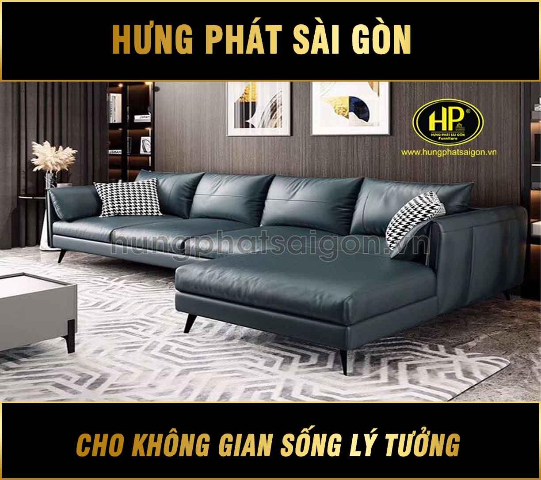 Sofa da cao cấp uy tín HD-33