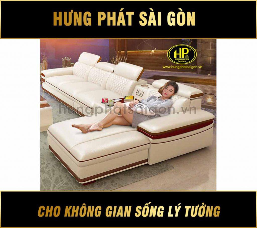 Sofa da cao cấp chính hãng HD-46