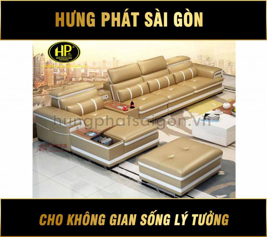 Sofa da cao cấp chính hãng HD-49