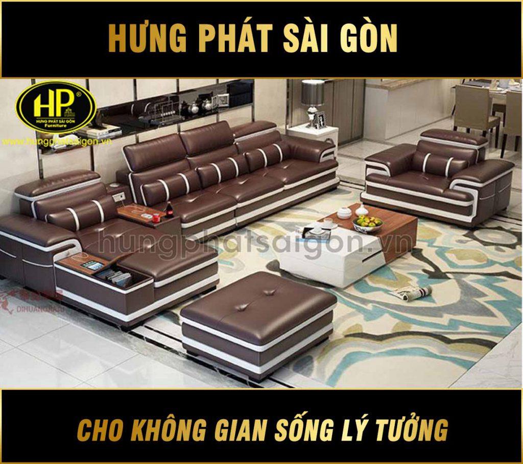Sofa da cao cấp chính hãng HD-50
