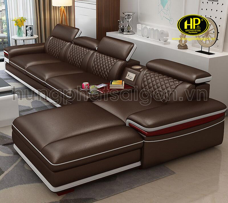 sofa da cao cấp sang trọng uy tín chất lượng