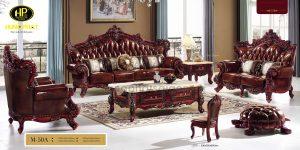 sofa gỗ xoan đào uy tín chất lượng tại quận 10 tphcm