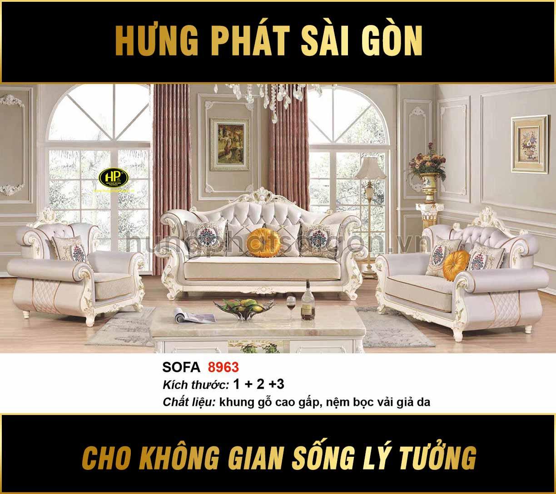 Sofa tân cổ điển H-8963