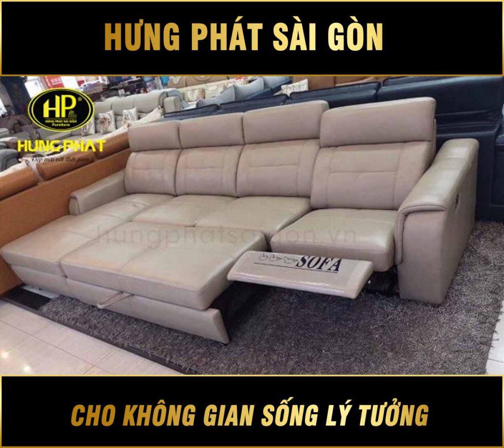 Sofa da bò cao cấp NK-8818