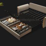 sofa giường nhập khẩu cao cấp uy tín chất lượng
