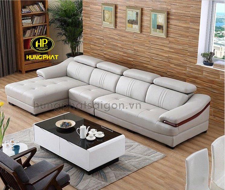Sofa da Hàn Quốc đẹp hiện cho nhà chung cư cao cấp