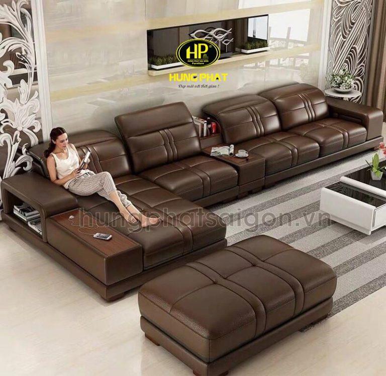ghế sofa phòng khách tiện dụng sang trọng