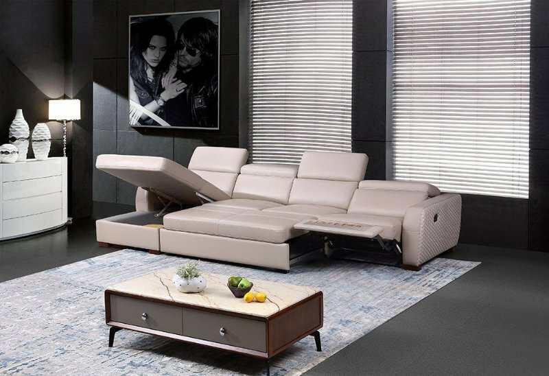 sofa thư giãn da bò giường nằm cao cấp giá rẻ