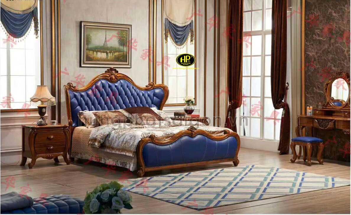 Giường cổ điển cao cấp A-02
