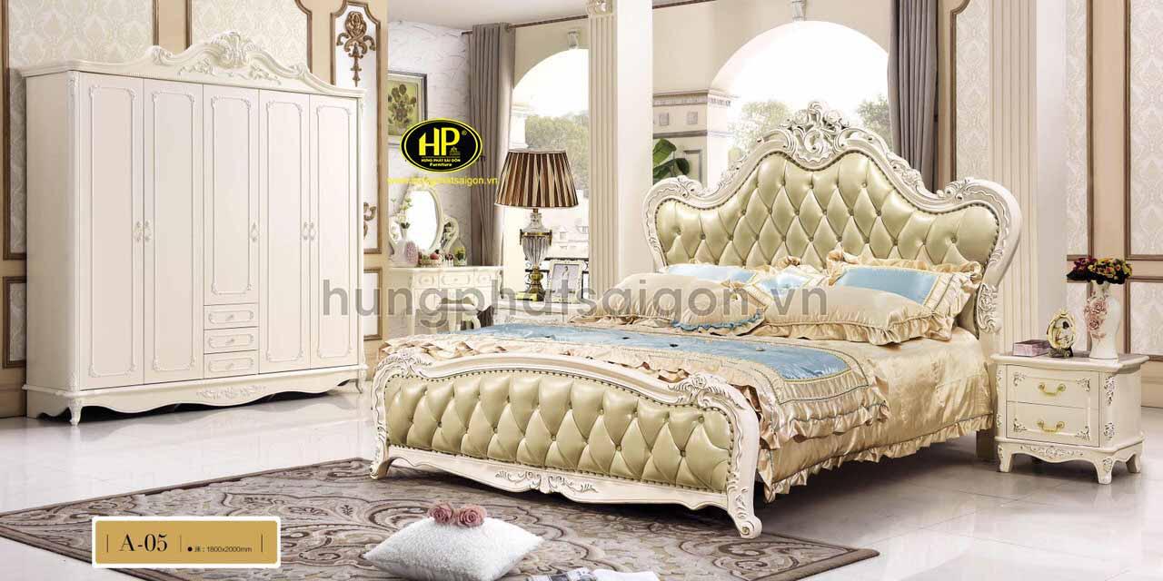 Giường cổ điển hiện đại A-05