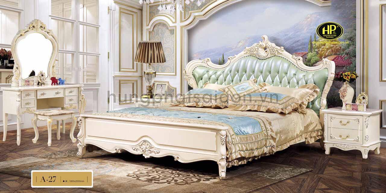 Giường cổ điển cao cấp A-27