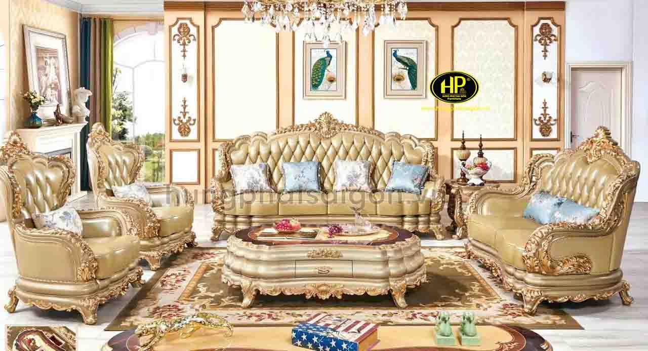 Bộ sofa tân cổ điển M-58