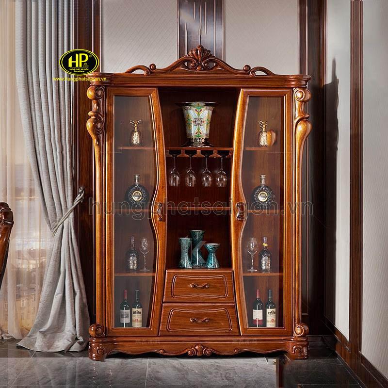 tủ rượu tân cổ điển sang trọng hiện đại cao cấp