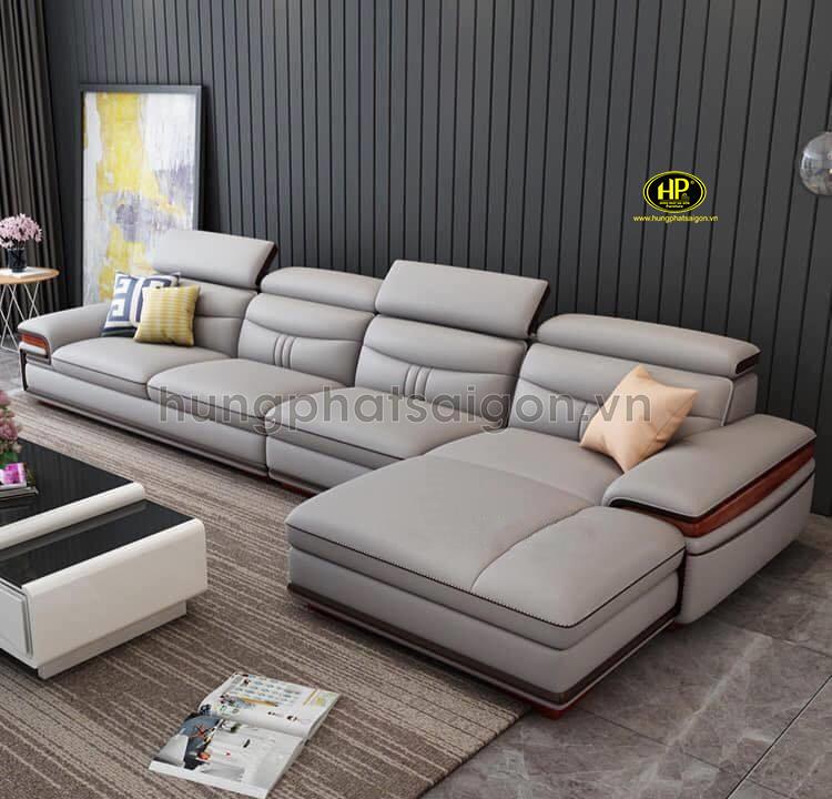 sofa da cao cấp hiện đại uy tín