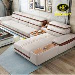 Sofa da nhập khẩu Hàn Quốc xịn cho phòng khách hiện đại