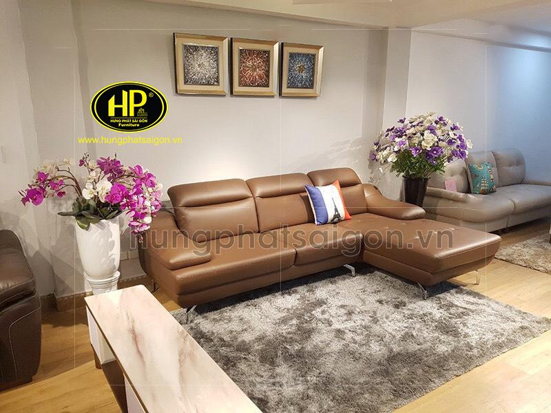 Sofa da thiết kế theo phong cách Hàn Quốc vừa rẻ lại đẹp