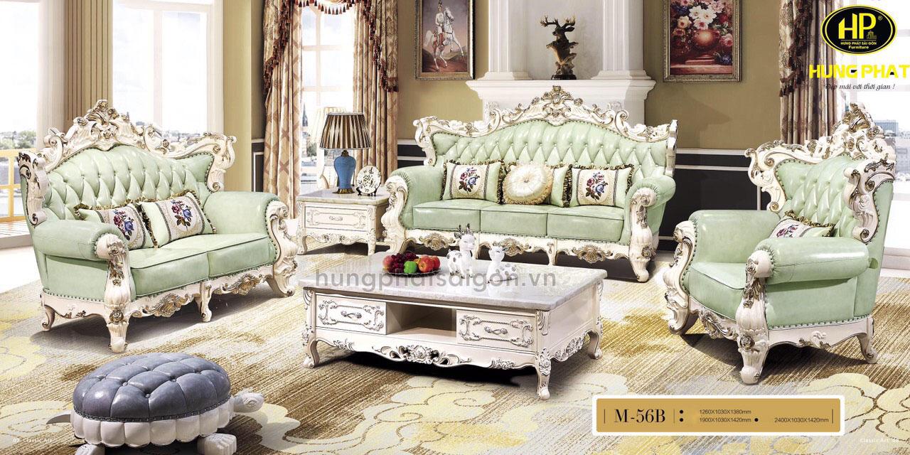 sofa nhập khẩu cổ điển cao cấp sang trọng