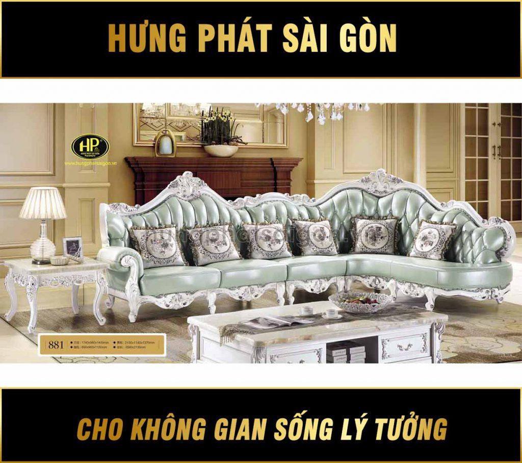 Sofa tân cổ điển H-881