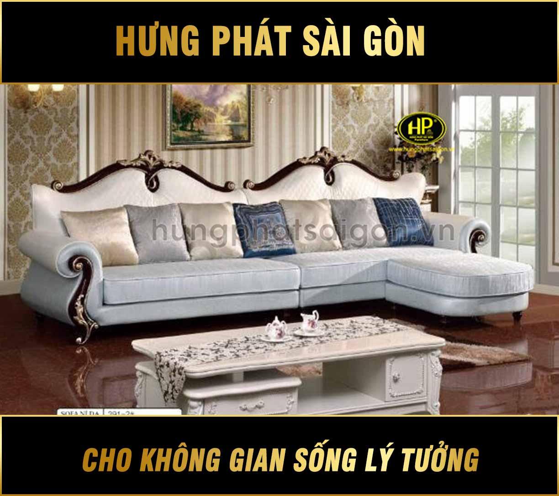Sofa tân cổ điển hiện đại H-3391-2