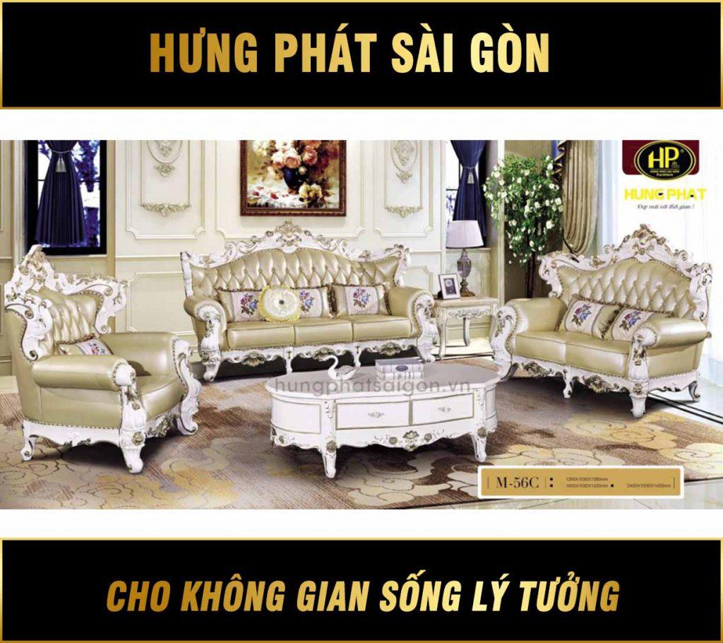 Sofa tân cổ điển M-56C