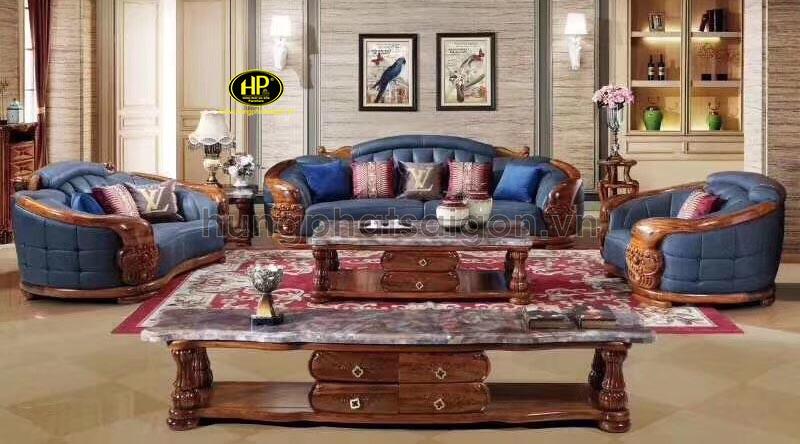 Trọn bộ sofa tân cổ điển M-70