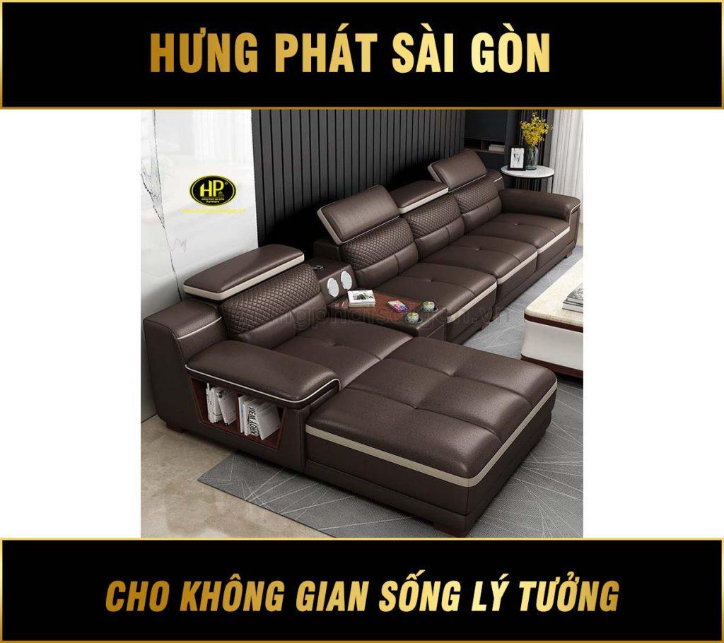 Sofa da cao cấp HD-59