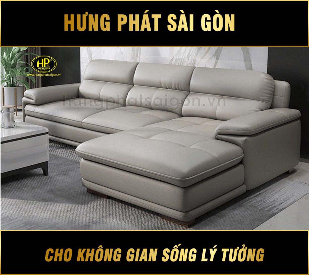 Sofa da cao cấp cho chung cư HD-60