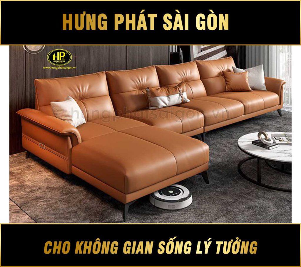 Sofa da cao cấp hiện đại HD-68