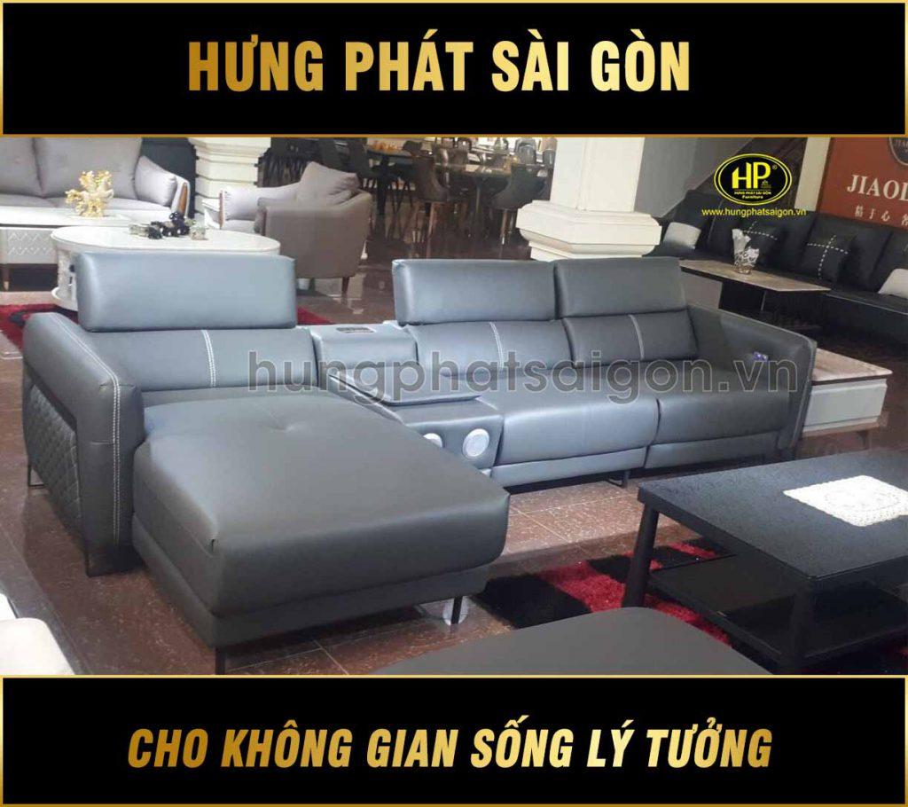 Sofa da cao cấp nhập khẩu H-918