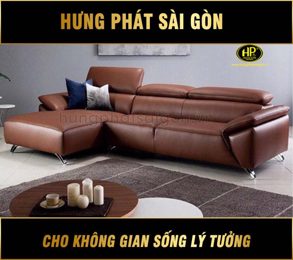 Sofa da hiện đại giá rẻ HD-67