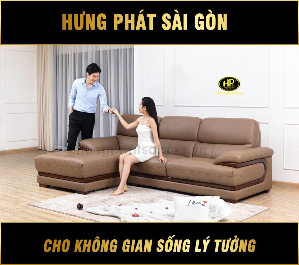 Sofa da hiện đại giá rẻ HD-70
