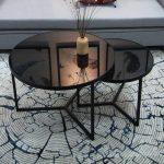 Mẫu bàn kính tròn sofa giá ưu đãi dưới 10 triệu
