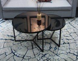 bàn kính tròn sofa giá rẻ chất lượng