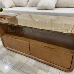 Top 10 mẫu bàn sofa gỗ đẹp, chất lượng giá tốt
