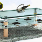Cách chọn bàn sofa mặt kính phù hợp với từng không gian