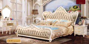 địa chỉ mua giường ngủ tân cổ điển đẹp