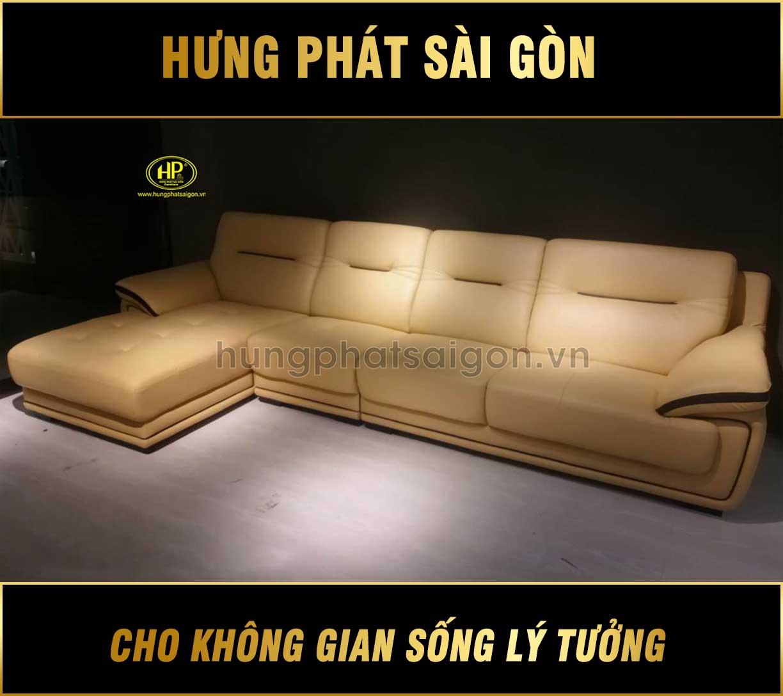 Sofa da bò nhập khẩu NK-2612