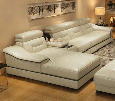 mẫu ghế sofa da đẹp nhập khẩu hiện đại cao cấp
