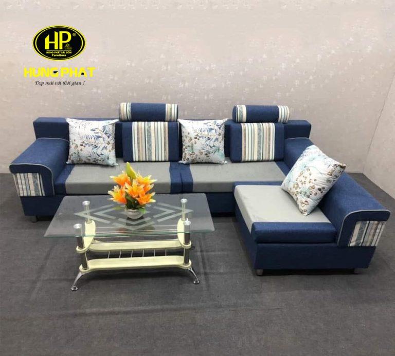 Màu sắc sofa chất liệu vải nỉ rất đa dạng