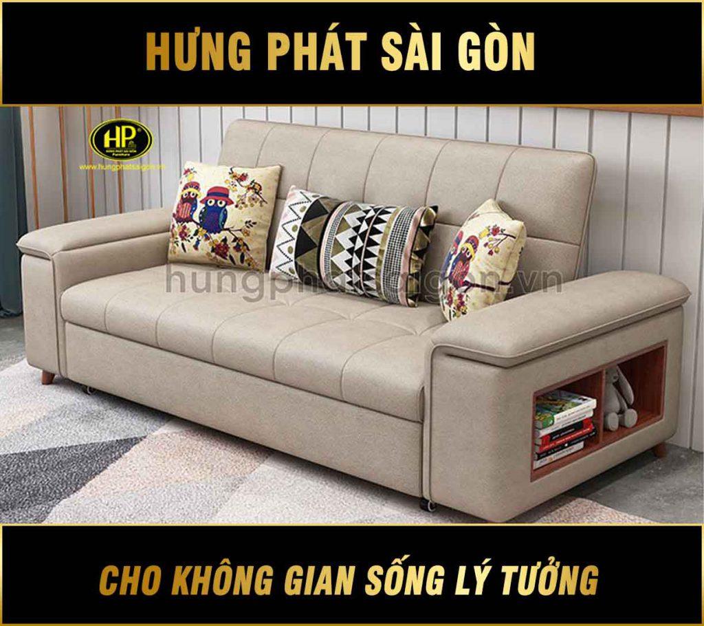 Sofa giường bằng da thông minh GK-05