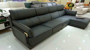 sofa góc da nhập khẩu chất lượng hiện đại