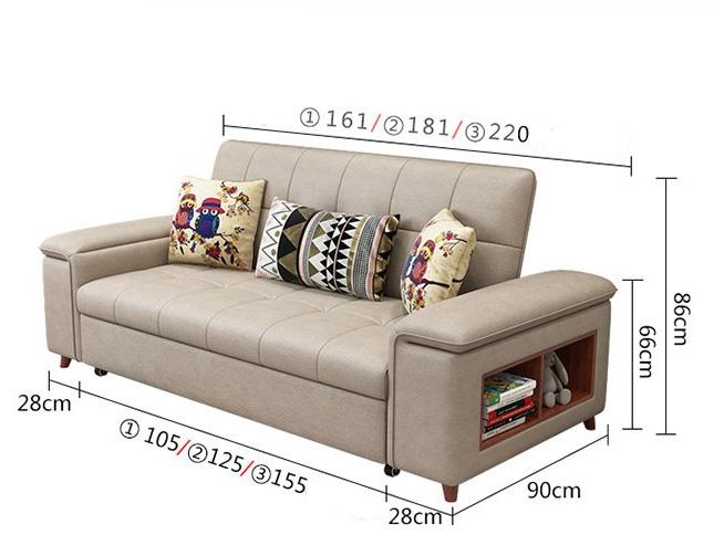 kích thước giường gk-05