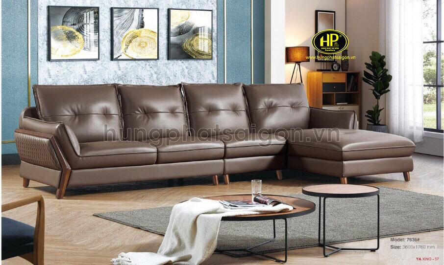 sofa da công nghiệp cao cấp