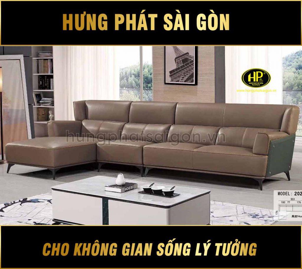 sofa da bò cao cấp nhập khẩu