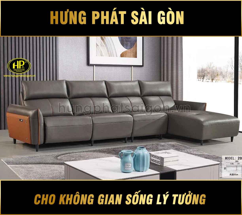Ghế sofa da thư giãn H-2015